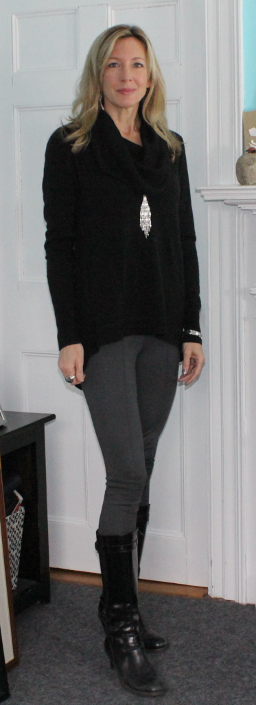 OOTD Grey Leggings