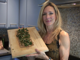Kale & White Bean Flatbread Appetizer Recipe