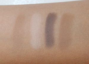 PF Matte Swatches matte eyeshadow