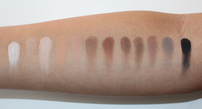 SK Matte Swatches matte eyeshadow