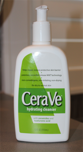 CeraVe Hydrating Cleanser ~ $10.50 for 12 oz.