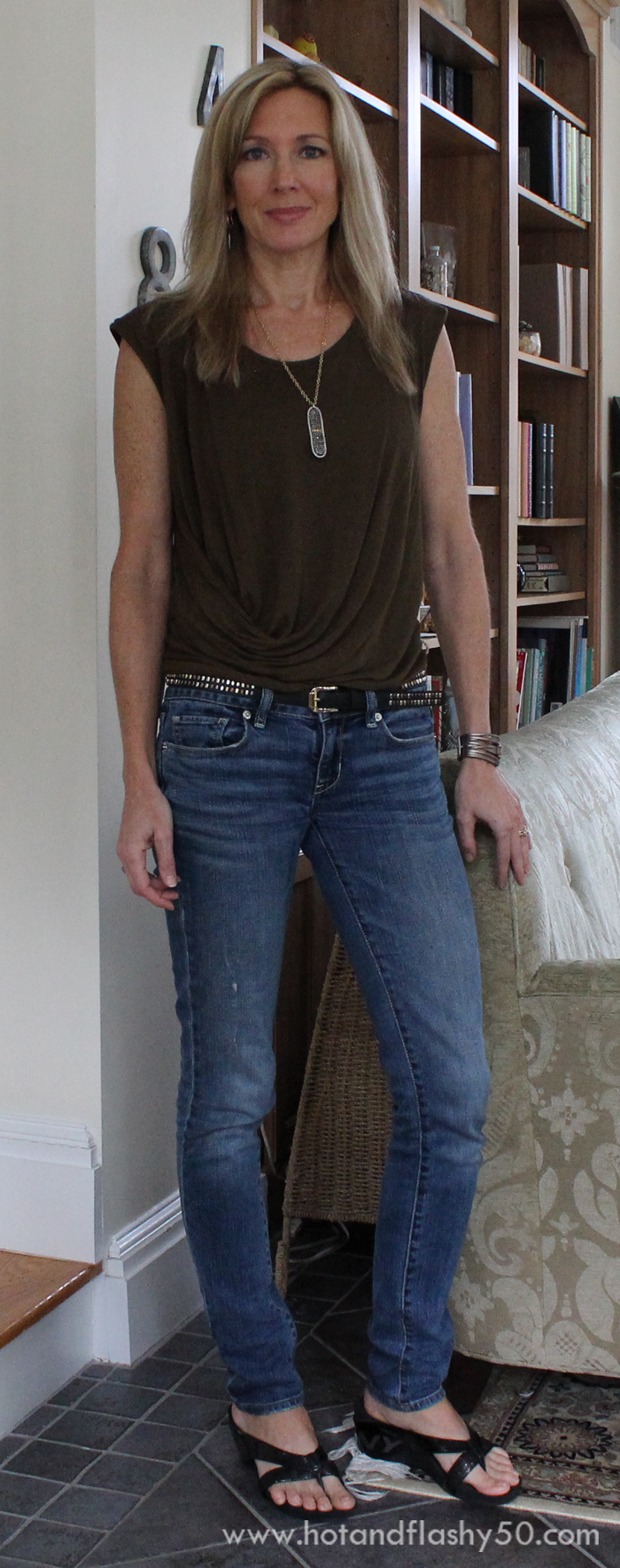 Ootd Tee Shirt Amp Jeans For A Warm Fall Day