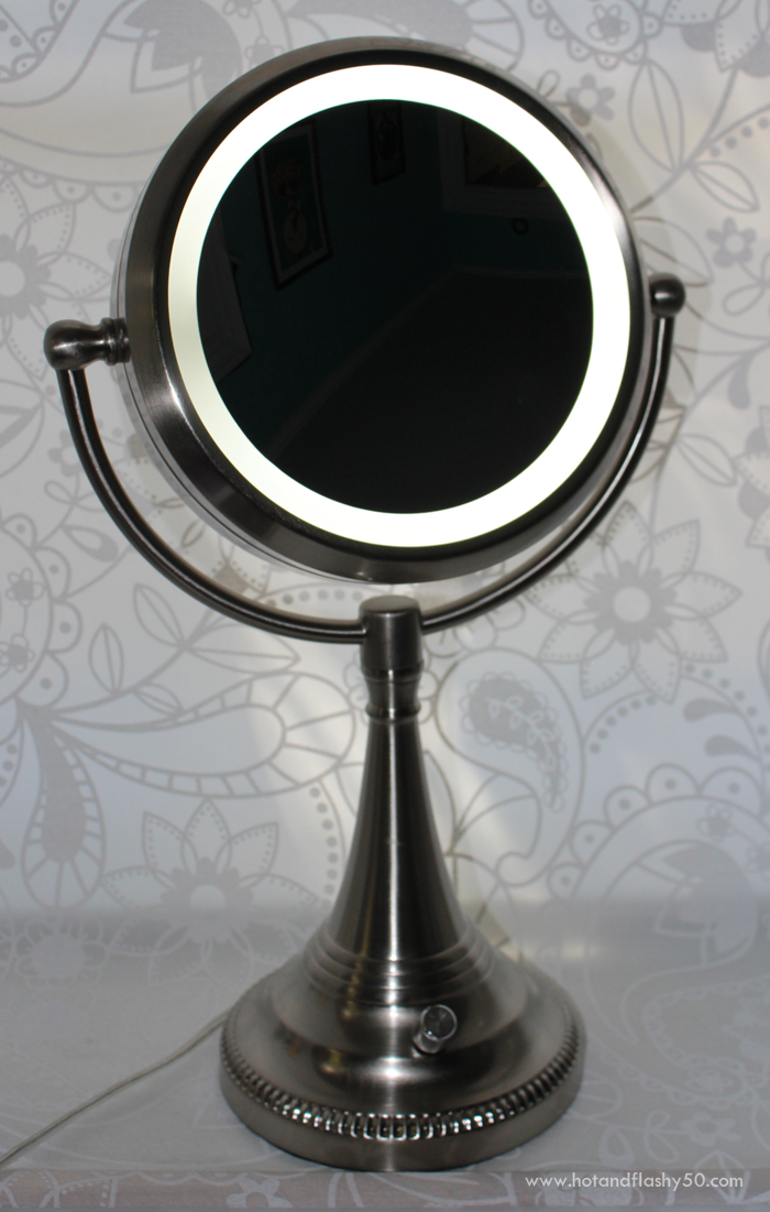 10X Lighted Costco Makeup Mirror. Mirror Mirror  Help Me See  Magnifying Mirrors for Older Women
