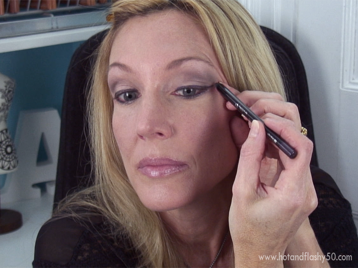 Eye makeup for women over 60