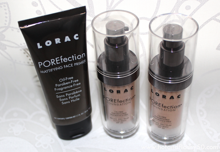 LORAC POREfection Mattefying Face Primer & Foundation
