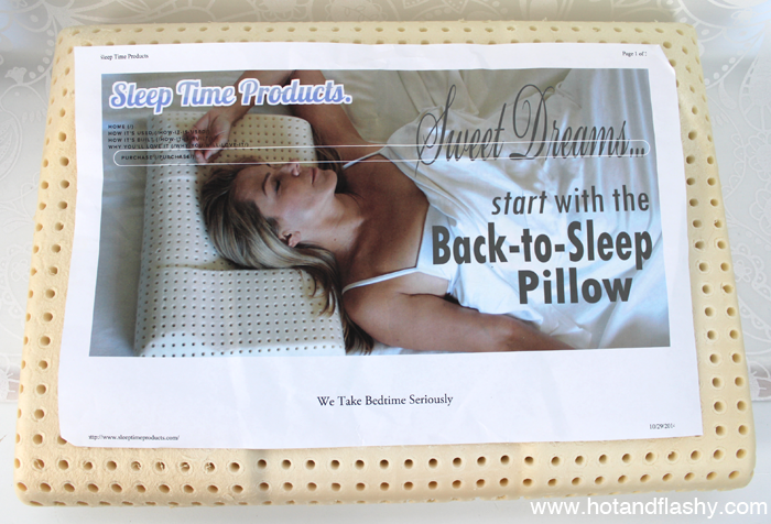 Pillow with Label