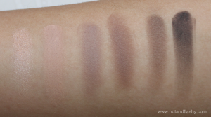 Urban Decay Naked2 Basics Swatches