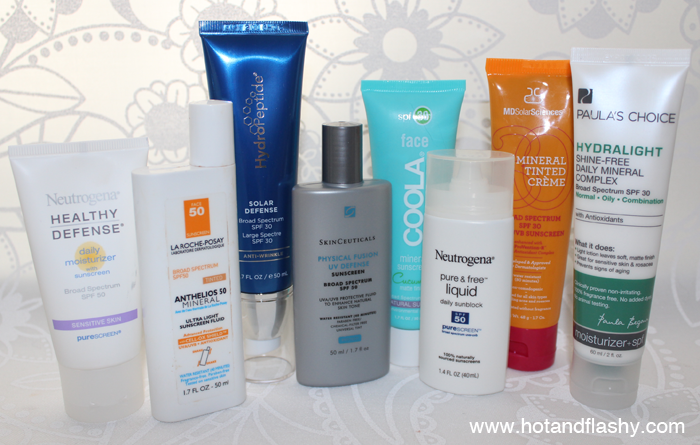 All-Mineral Sunscreens