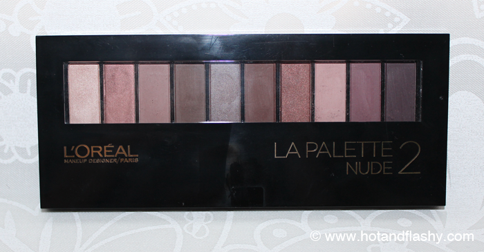 LOreal LaPalette Nude 2 Closed