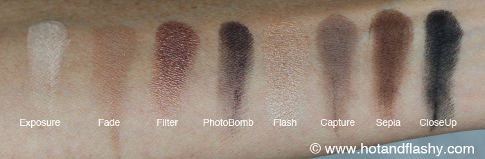 PUR Love Your Selfie Eyeshadow Swatches