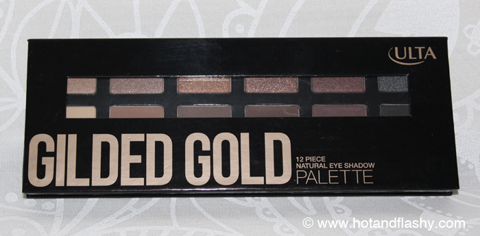 Ulta Gilded Gold Palette Closed
