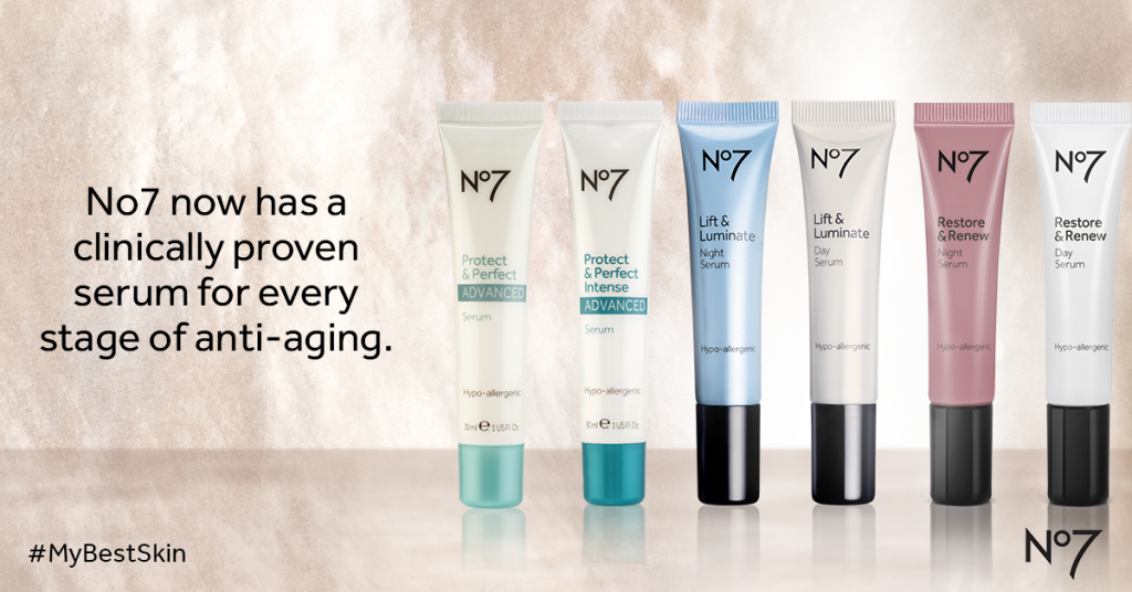 Boots No7 NEW Restore & Renew Serum Give Away!