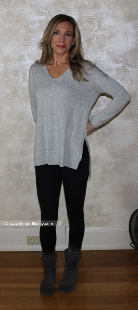 Grey Sweater Leggings