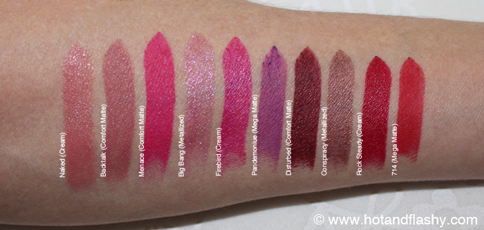 Uuban Decay Vice Lipsticks