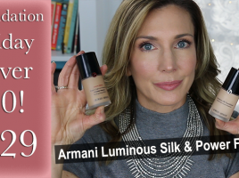 FFOF #29 Armani Luminous Silk + Power Fabric